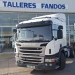 Entrega de tractora Scania  P400  en Segovia.