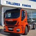 Entrega de tractora nueva IVECO AD440S42T/P  con una TARA increíble.