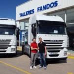 Entrega de 2 tractoras de ocasión IVECO AS440S46TP para Lleida