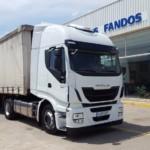 Entrega de tractora nueva IVECO AS440S48TP para Andorra, Teruel.