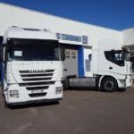 Entrega de dos tractoras IVECO AS440S46TP para Sevilla.