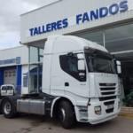 Entrega de tractora de ocasión IVECO AS440S50TP para Galicia.