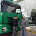 Entrega de tractora IVECO AS440S50T/P  con ADR completo.