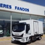 Entrega de IVECO Eurocargo ML100E22 nuevo.