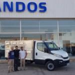 Entrega de nueva Iveco Daily 35S16 a Egido Sanchez