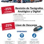 Promoción de postventa en Tacógrafos, llaves de descarga y revisiones.