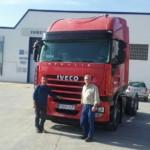 Entrega de cabeza tractora de ocasión IVECO AS440S42TP.