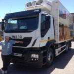 Entrega de camión frigorífico nuevo IVECO AT260S42Y/P.