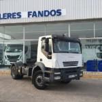 Entrega cabeza tractora IVECO Trakker para Valencia.