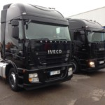 Entrega de 2 cabezas tractoras de ocasión  IVECO AS440S46TP.