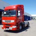 Entrega de cabeza tractora Renault Premium para Valladolid.