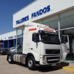 Entrega de tractora de ocasión VOLVO FH13 para Geldo, Castellón.