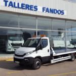 Entrega de furgoneta nueva IVECO Daily 70C17 en La Puebla de Valverde en Teruel.