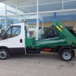 Entrega de furgoneta nueva IVECO 35C15 .