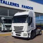 Entrega de cabeza tractora de ocasión IVECO AS440S46TP año 2012 para Sevilla.