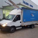 Entrega de furgoneta de ocasión IVECO 35C15 del año 2013.