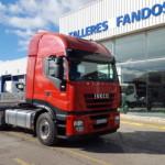 Entrega tractora de ocasión IVECO AS440S42TP para Valencia.