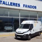 Entrega de furgoneta IVECO 35S13 para Muebles Lazaro de Teruel.