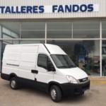 Entrega de furgoneta de ocasión para Ciudad Real.