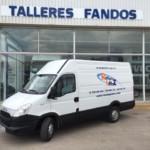 Entrega de furgón de ocasión IVECO para Zaragoza.