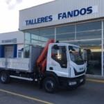 Entrega de camión nuevo  IVECO Eurocargo en Teruel.