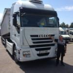 Entrega de tractora  IVECO AS440S46TP con ADR completo