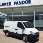 Entrega de furgón de ocasión IVECO en Navarra.