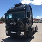 Entrega de tractora de ocasión IVECO para Alcañiz, Teruel.