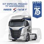 Kit especial PEGASO 75º Aniversario IVECO S-WAY