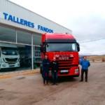 Entrega de cabeza tractora de ocasión, para Teruel.