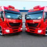 Entrega de 2 cabezas tractoras nuevas IVECO AS440S46T/P. para J.Subirada.