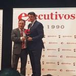 TALLERES FANDOS, galardonado con el premio EJECUTIVOS DEL AÑO DE ARAGON en la categoría de Estrategia Empresarial.