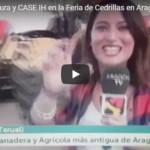 Fandos Agricultura y CASE IH en la Feria de Cedrillas en Aragon TV