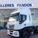 Entrega de tractora IVECO AS440S46TP para Barcelona.