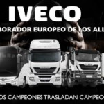 IVECO EUROPEAN SUPPORTER OF THE ALL BLACKS