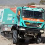 Comienza el Dakar 2015, suerte, Equipo Petronas De Rooy IVECO.