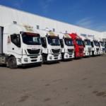 Entrega de tractoras de ocasión IVECO, desde nuestro centro Ok Trucks en Teruel.